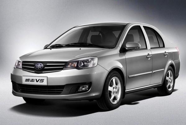 目前一汽旗下已经拥有了6款小型车,威志v5表明一汽要进一步高清图片